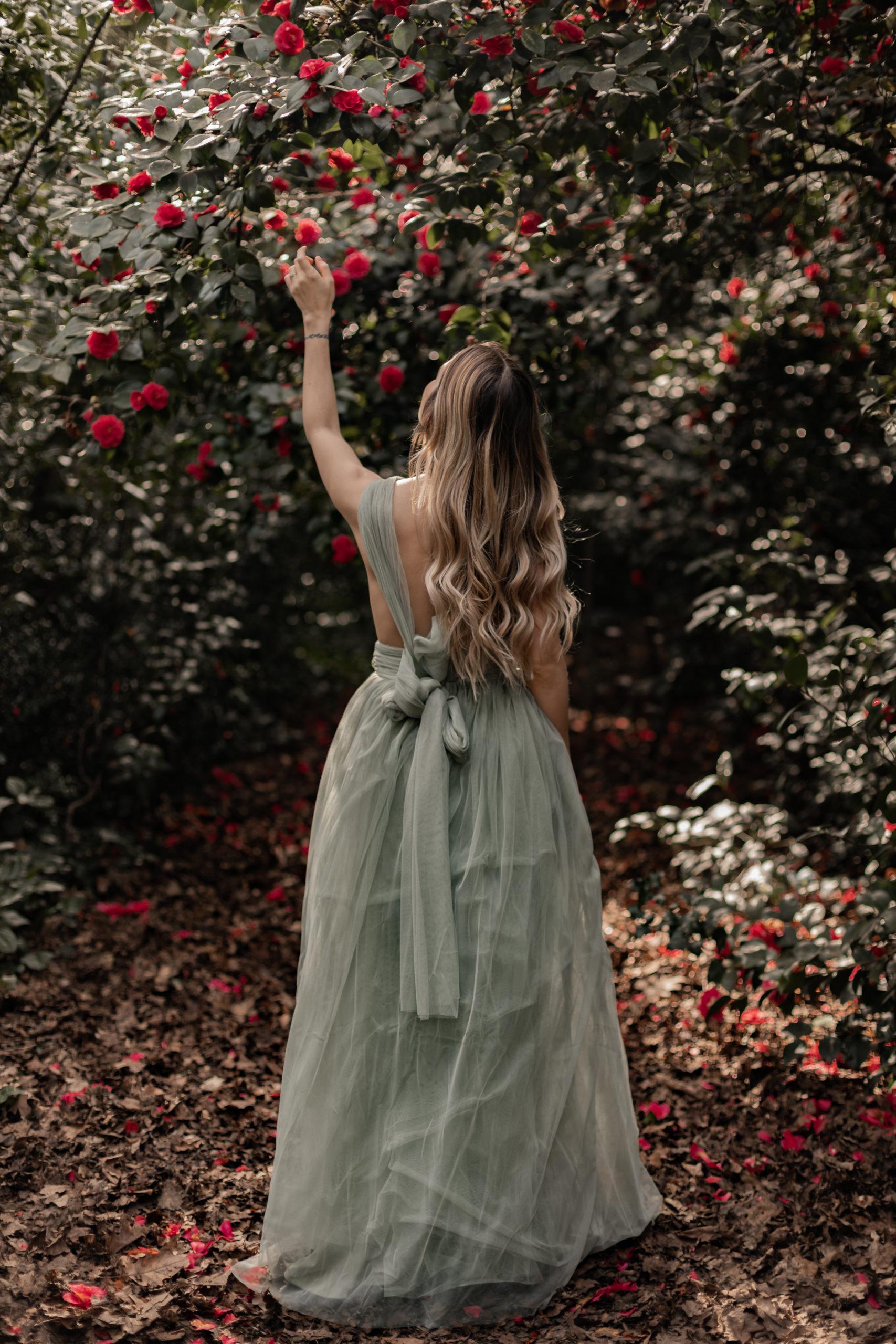 Dans ma robe de princesse