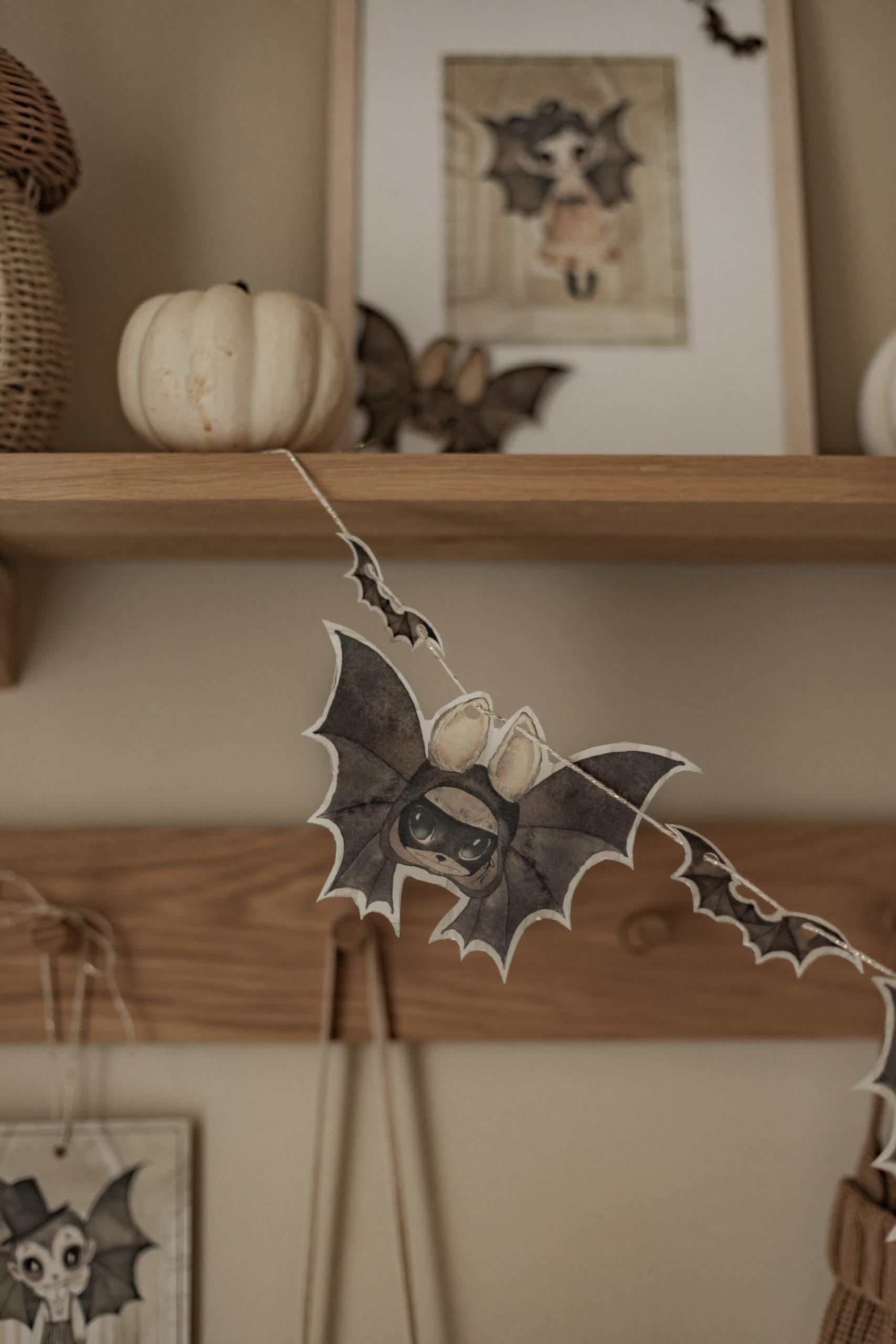 La décoration d'Halloween d'Eden